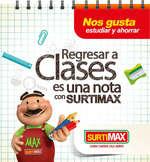 Ofertas de SurtiMax, Regresar a clases es una nota con Surtimax