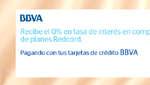 Ofertas de BBVA, Promociones adelante