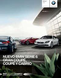 BMW SERIE 6 GRAN COUPÉ, COUPÉ Y CABRIO