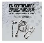 Ofertas de Bodegas Ilusión, Lleva gratis un kit de accesorios Bodyfit