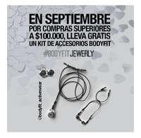 Lleva gratis un kit de accesorios Bodyfit