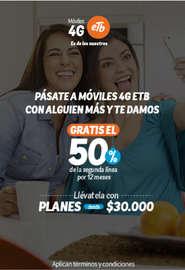 Móviles 4G - Planes Pospago abierto