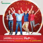 Ofertas de Bancoomeva, Ahorra con el PAP sorteo Bancoomeva