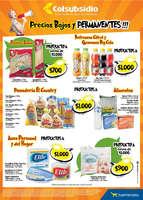 Ofertas de Supermercados Colsubsidio, Precios Bajos y Permanentes!