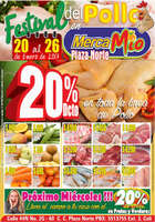 Ofertas de MercaMío, Festival del pollo en MercaMío - Plaza Norte