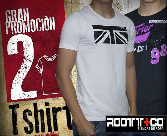Ofertas de Root + Co, Camisetas Hombre