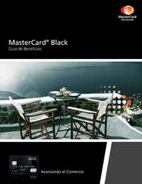 Guía de beneficios Mastercard Black