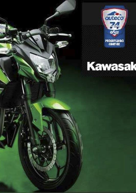 Ofertas de Auteco, Kawasaki Z250 SL