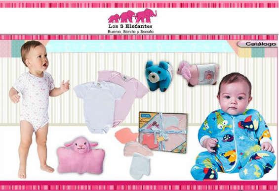 Ofertas de Los Tres Elefantes, Catálogo de Bebé