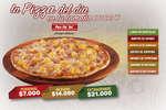 Ofertas de Pan Pa' Ya, Pizza del día