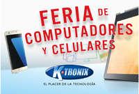 Feria de computadores y celulares