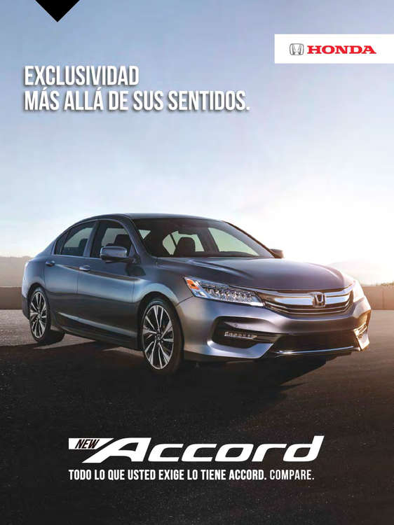 Ofertas de Honda Autos, Honda Accord