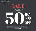Ofertas de Color Siete, Sale - Hasta 50% off en referencias seleccionadas