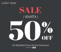 Sale - Hasta 50% off en referencias seleccionadas