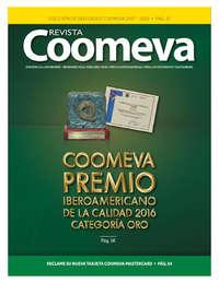 Revista Coomeva - Coomeva Premio Iberoamericano de la calidad Oro 2016