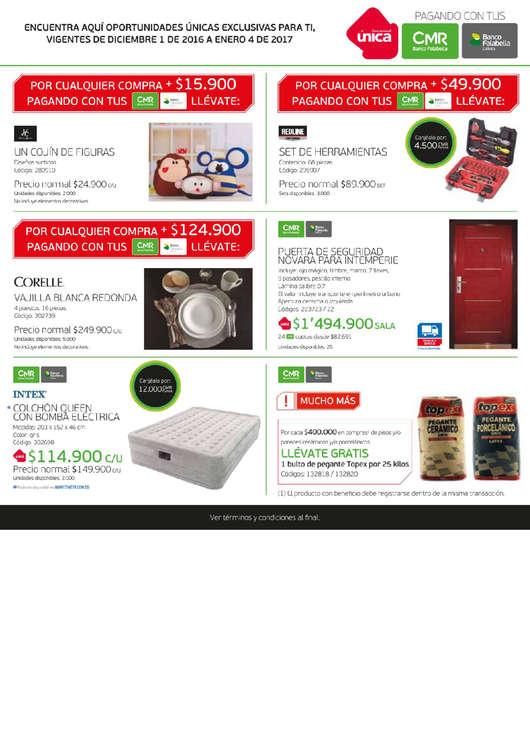 Ofertas de HomeCenter, Catálogo Home Center - Vacaciones