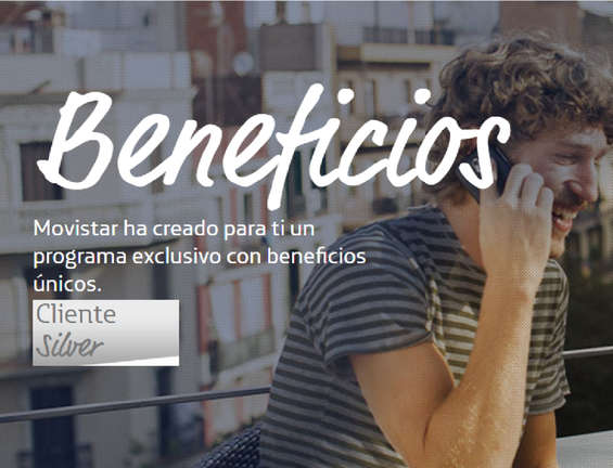 Ofertas de Movistar, Beneficios - Cliente Silver