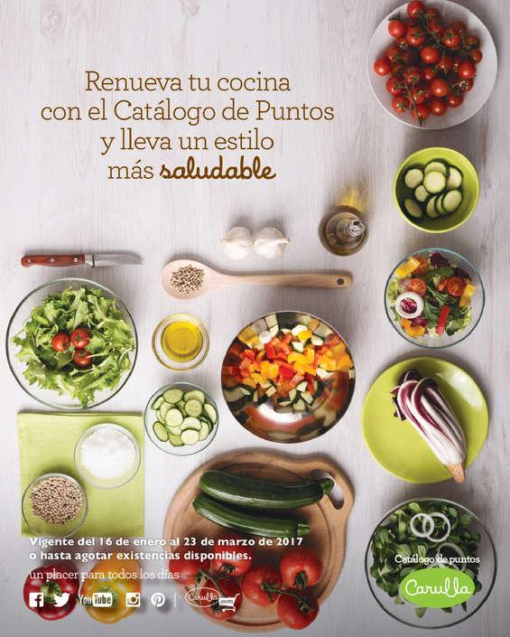 Ofertas de Carulla, Catálogo de puntos - renueva tu cocina