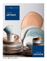 Vajillas Artisan - Disponibles a partir del 10 de Julio