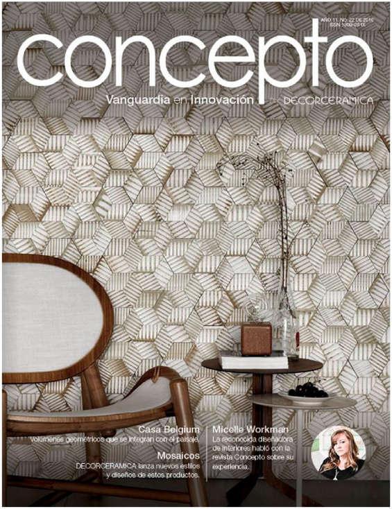 Ofertas de Decorceramica, Revista Concepto. Edición 22