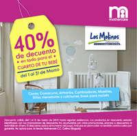 40% de descuento en todo para el cuarto de tu bebé