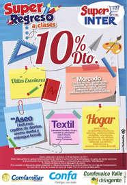 Súper regreso a clases - 10% de descuento en útiles escolares