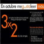 Ofertas de Librería Nacional, 3x2