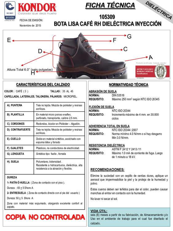 Ofertas de Calzado Kondor, Catálogo  de Botas
