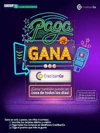 Paga y Gana con CredibanCo