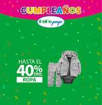 Ofertas de Pepe Ganga, Cumpleaños Pepe Ganga - 40% de descuento en Ropa