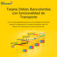 Tarjeta Débito Bancolombia
