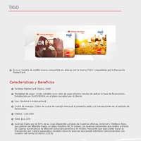 Tarjetas de marca compartida - Tigo