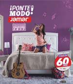 Ofertas de Muebles Jamar, Ponte en modo Jamar con la nueva colección 2017 - Otras ciudades