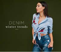 Denim Winter Trends 2016