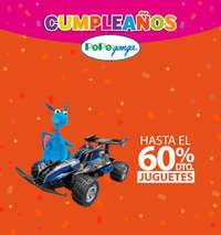 Cumpleaños Pepe Ganga - 60% de descuento en Juguetes