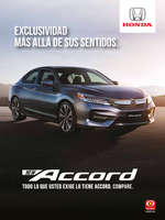 Ofertas de Honda Autos, Honda New Accord
