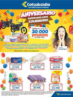 Ofertas de Supermercados Colsubsidio, Catálogo - Aniversario Supermercados Colsubsidio