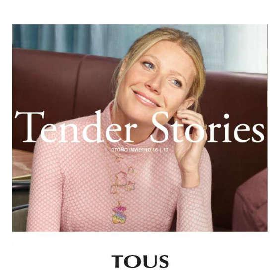 Ofertas de Tous, Tender Stories Otoño Invierno