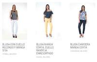 Catálogo - Ropa para mujer