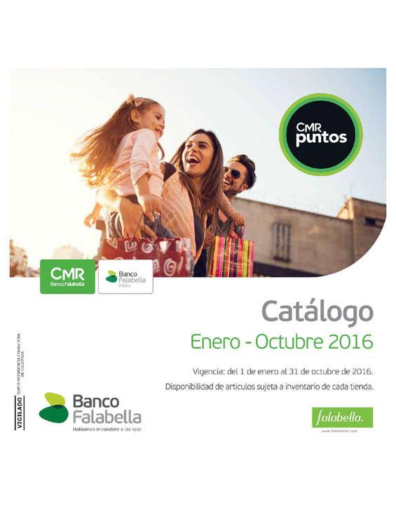 Ofertas de Banco Falabella, Catálogo Enero - Octubre 2016