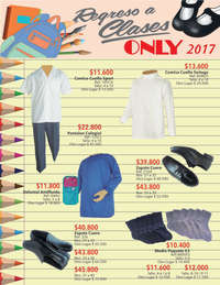 Catálogo - Regreso a clases 2017