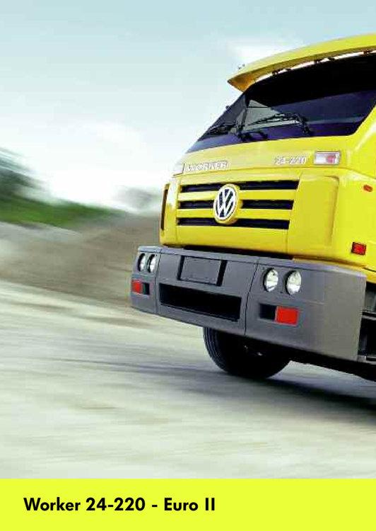 Ofertas de Volkswagen, Worker 24-220 - Euro II
