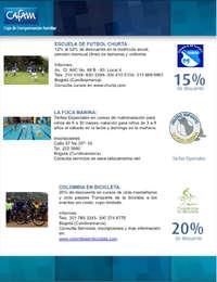 Convenios Deportes