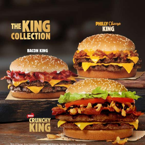 Ofertas de Burger King, The King Collection