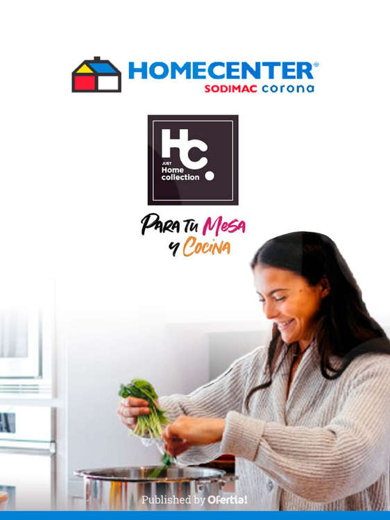 Ofertas de Homecenter, Home collection
