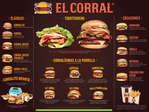 Ofertas de El Corral, Carta