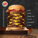 Ofertas de Burger King, Hamburguesa