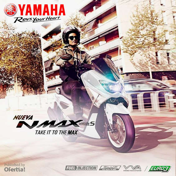 Ofertas de Yamaha Motors, Yamaha Motors_NMAX