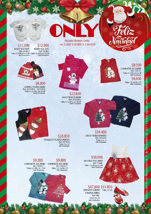 Ofertas de Almacenes Only, Feliz Navidad