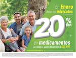 Ofertas de Cruz Verde, Todos los miercoles 20% de descuento